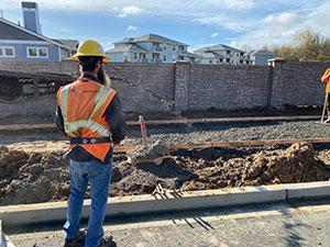 Dan Jones Sidewalk Grading